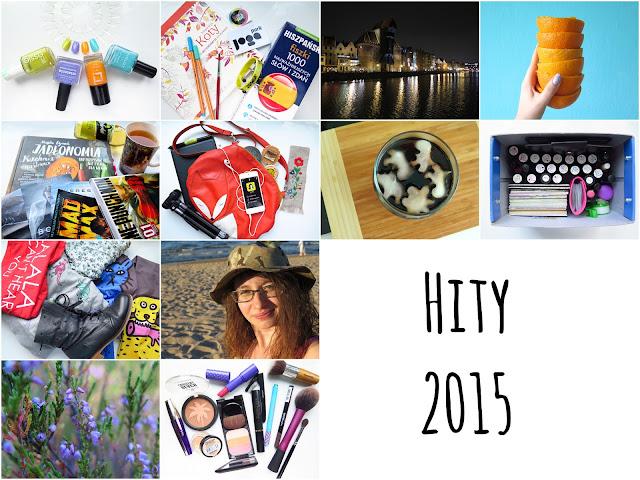 Ulubieńcy 2015 - lakiery, kosmetyki, jedzenie, gadżety, ubrania, czasoumilacze