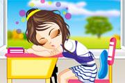School Game : Sleeping Girl