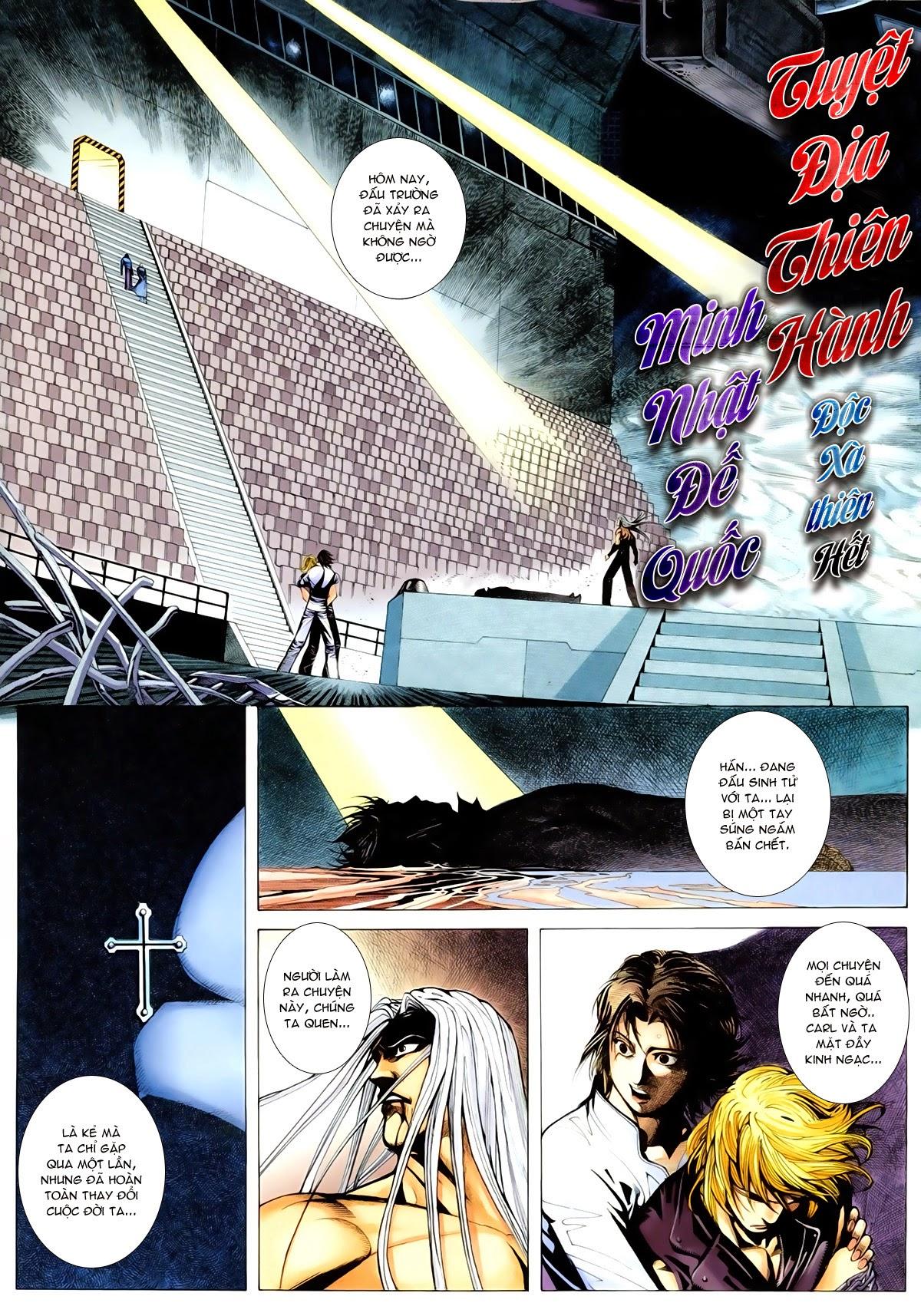 Tuyệt Địa Thiên Hành chap 8 Trang 2 - Mangak.info