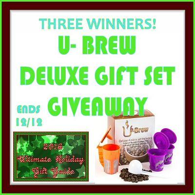 UBrew Deluxe Gift Set