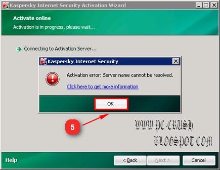 cara menggunakan key kaspersky 2010 4