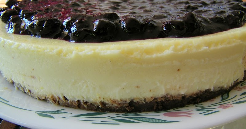 Chef Mommy Perfect Lemon Cheesecake With Lemon Blueberry