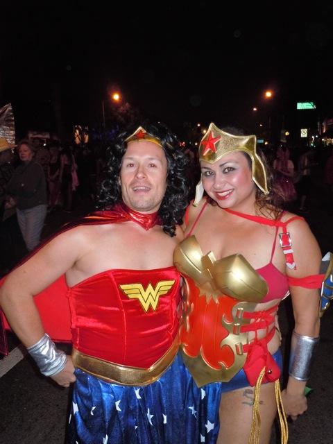 WEHO Halloween Wonder Women 2011