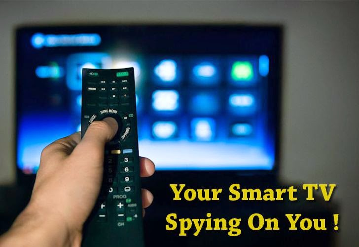 Samsung Admits Its Smart TV Is Spying On You