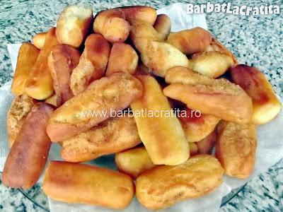 Biscuiti prajiti Banane reteta