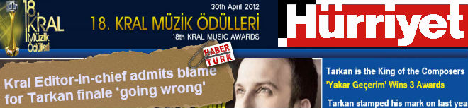 Kral Editor-in-chief accepts blame for Tarkan finale going wrong