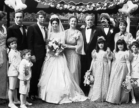 Wedding Photographs Godfather Style Being Ron - Godfather Wedding Cake
