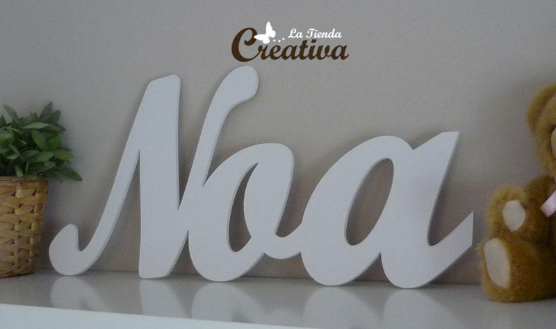 La tienda creativa letras para decorar y mucho m s - Letras infantiles para decorar ...