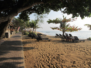 Visitindonesia; Sanur Beach, 1 Of The Brain Tourist Attractions Inwards Bali