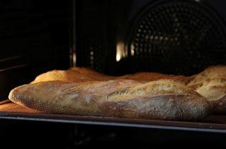 Rezept Baguette im Miele Backofen mit Klimagaren