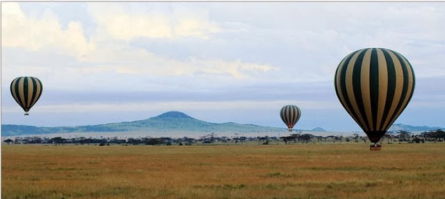 Balloons over the Serengeti