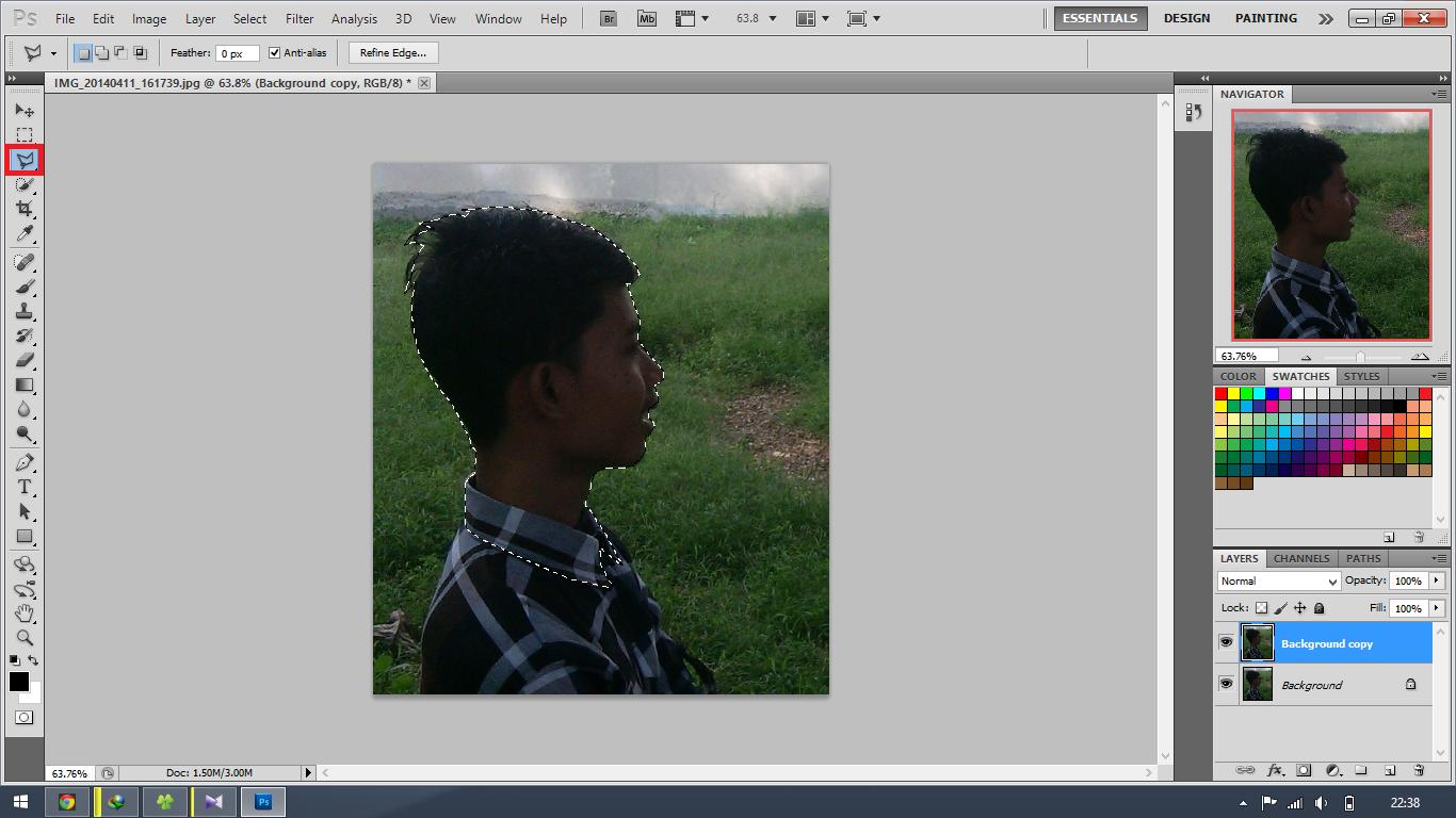 Cara menerangkan foto dengan photoshop cs2 52