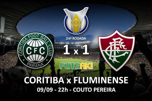 Veja o resumo da partida com os gols e os melhores momentos de Coritiba 1x1 Fluminense pela 24ª rodada do Brasileirão 2015.
