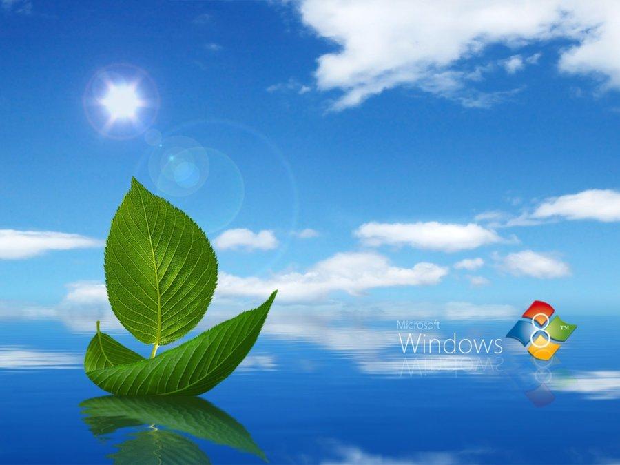 Windows 8 Beautiful Fresh Wallpaper Widescreen