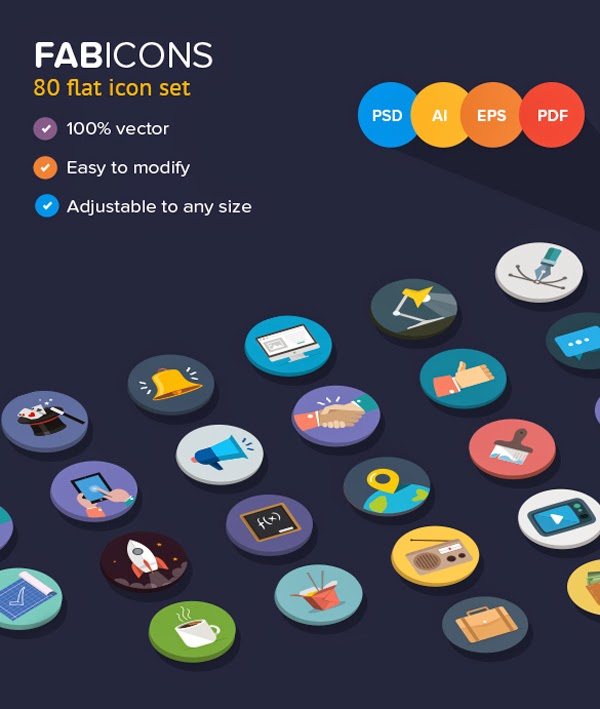 Fabicons by sumit chakraborty situs ikon terbaik