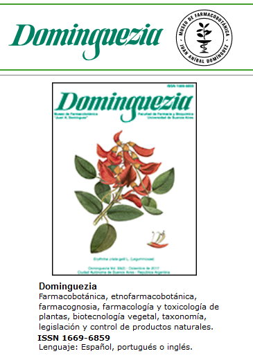 Revista Dominguezia
