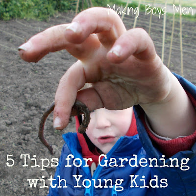 Gardening with young kids