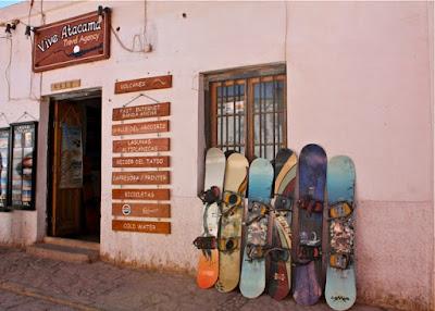 Sandboarding Chile