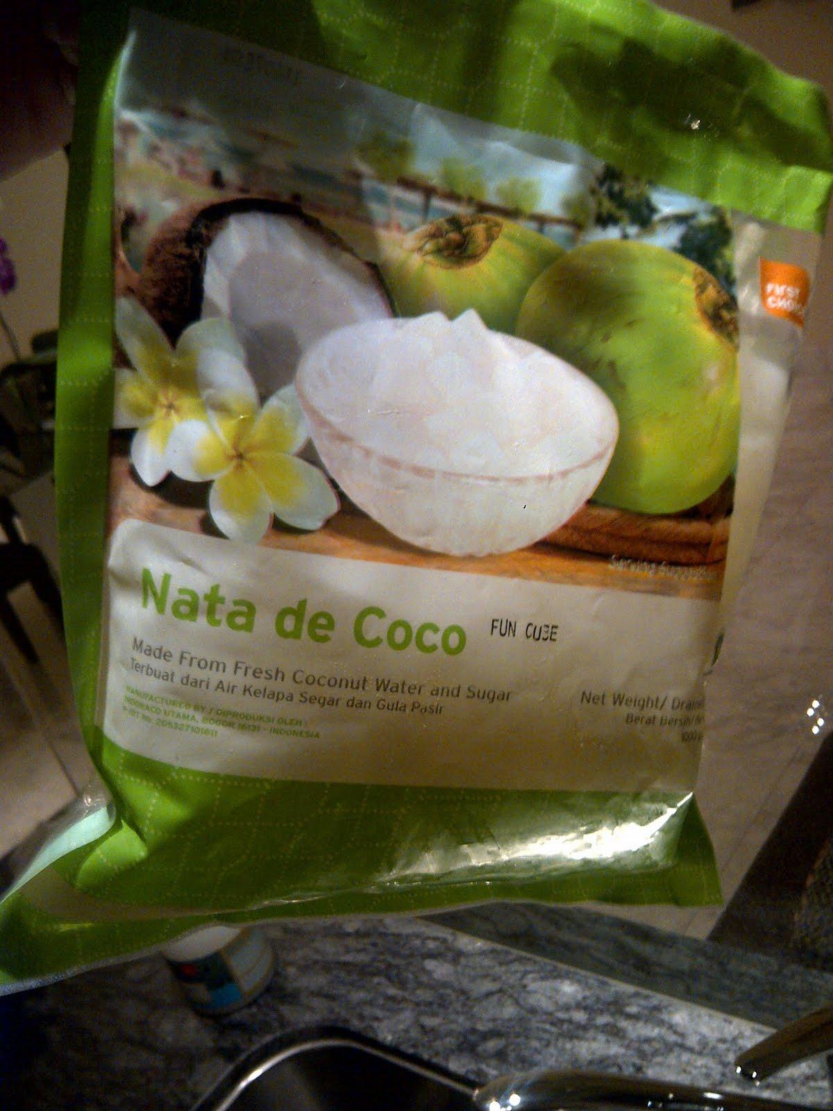 jubes nata de coco how to eat