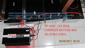 Foto Bukti Pengisian 12V 200Ah 4 Unit