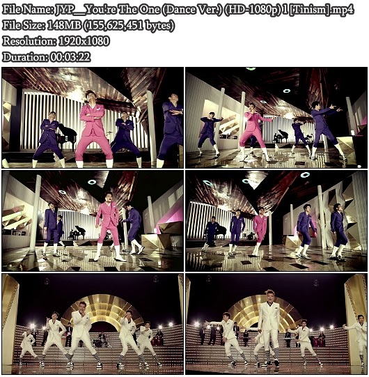 MV JYP - You're The One (Dance Version) (Full HD 1080p)