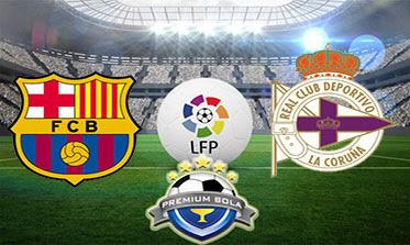 مشاهدة مباراة برشلونة وديبورتيفولاكورونا بث مباشر اليوم السبت 12-12-2015
