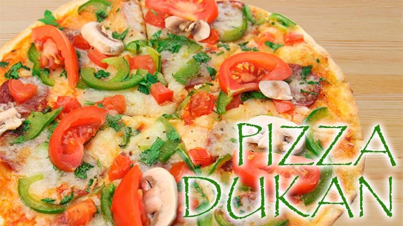 pizza dukan con levadura fresca