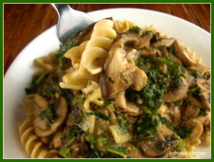Kahakai Kitchen: Mushroom Stroganoff (Low-Fat & Vegan So You Can Eat ...