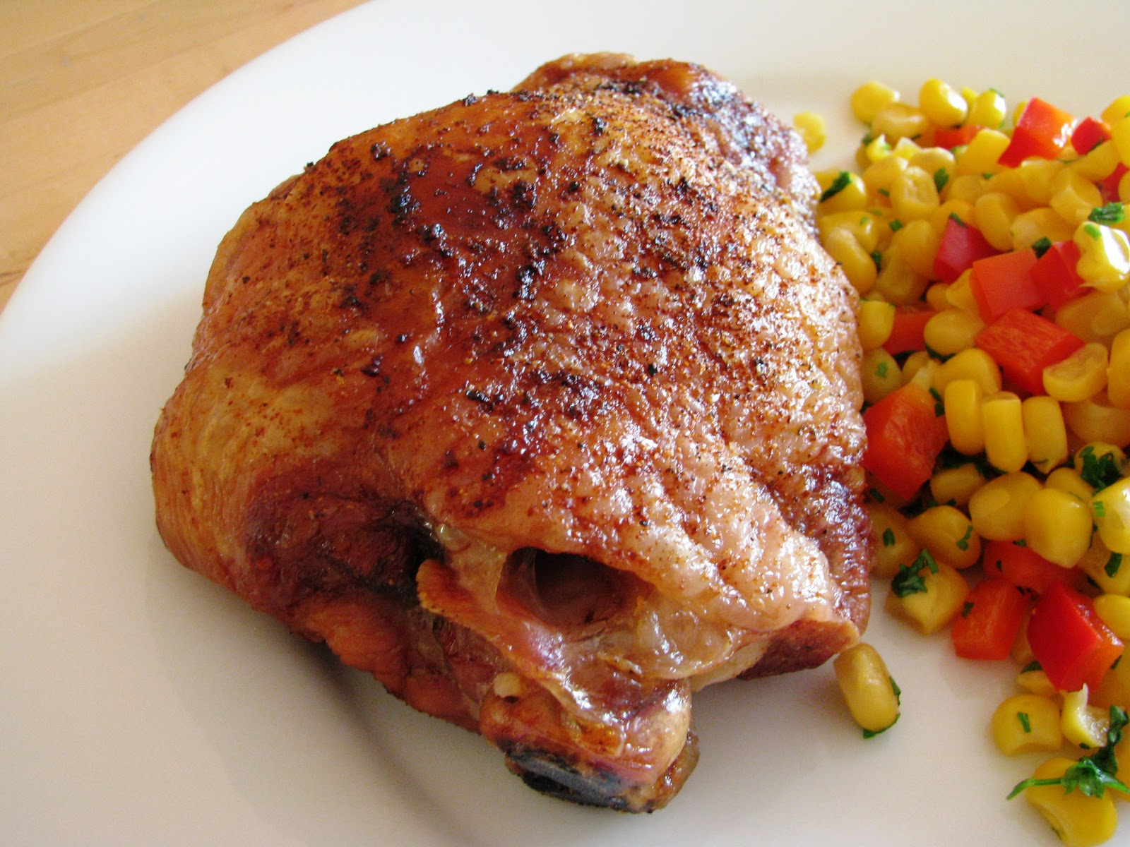 Kev's Kitchen: Slow-Roasted Turkey Thighs