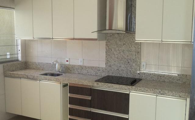 Construindo Minha Casa Clean 25 Tipos de Pedras para Bancada da Cozinha! Vej # Bancada De Cozinha Com Granito Ouro Brasil