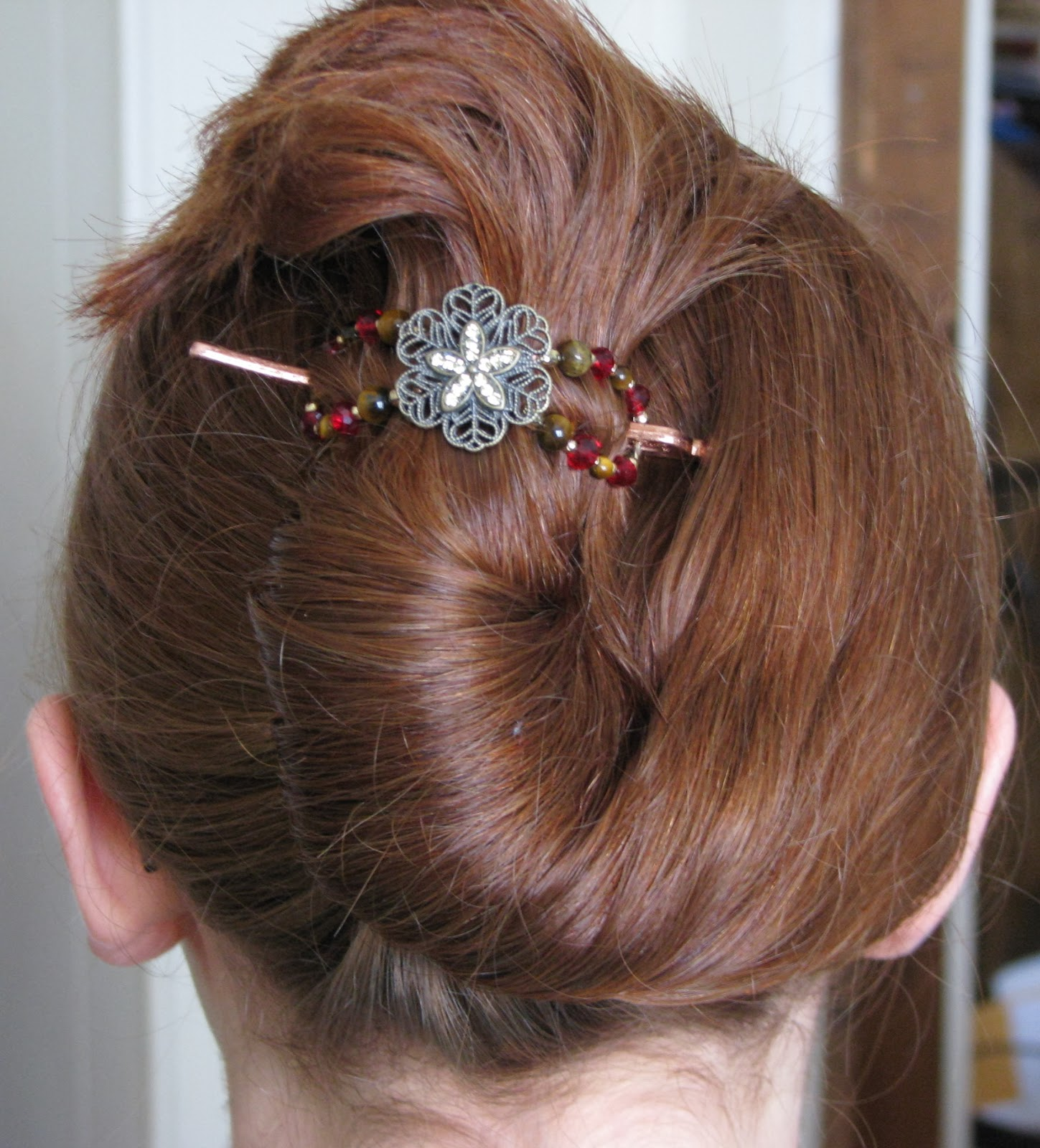 Updo w/ Lilla Rose Flexi