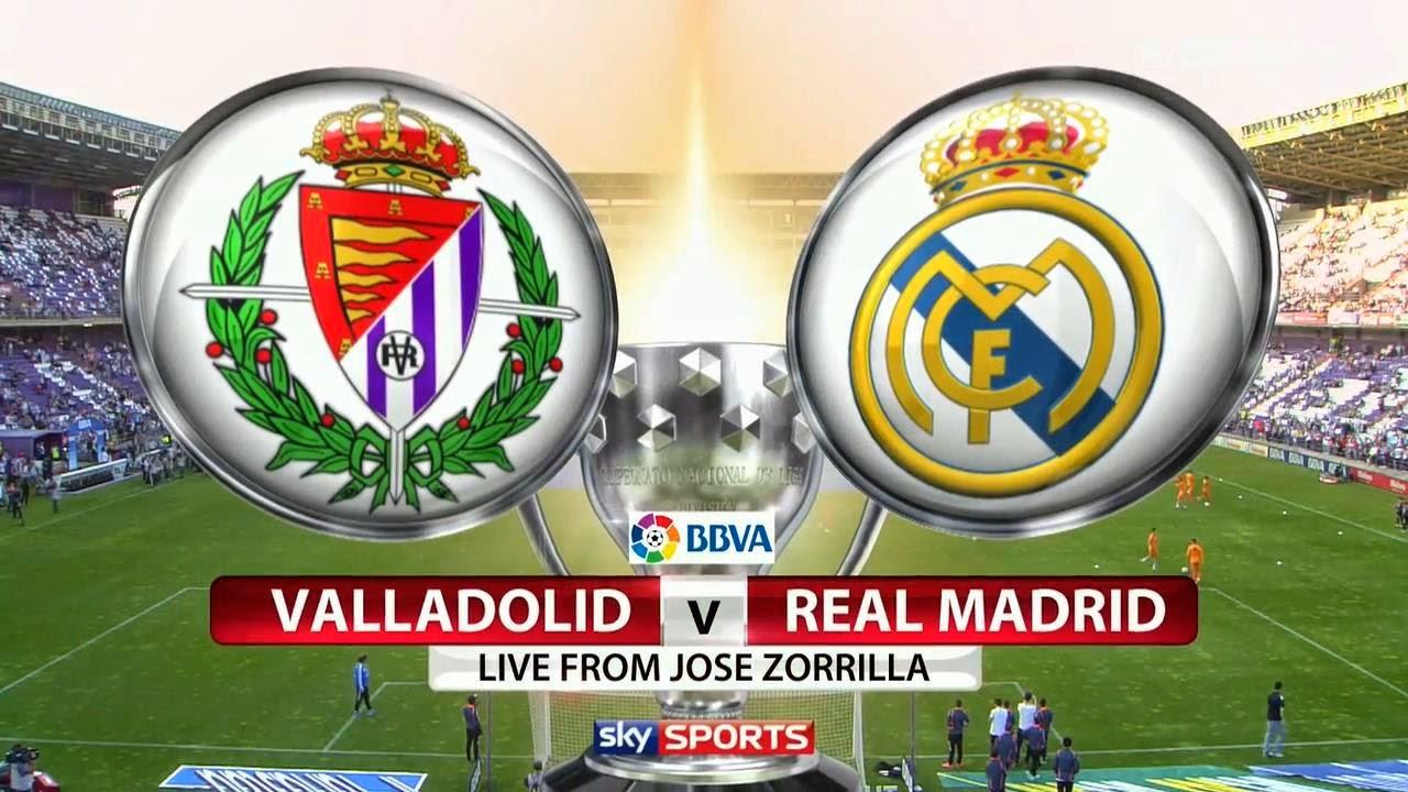 InfoDeportiva - Informacion al instante. VALLADOLID VS REAL MADRID