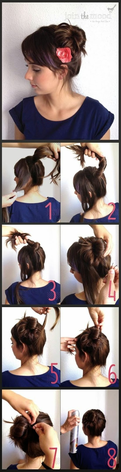 Messy Side Bun Hairstyles