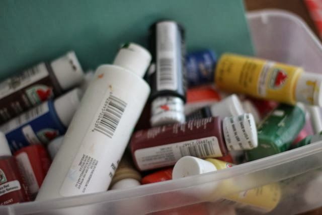 7 tips for hosting a painting party my first real for Can you paint candles with acrylic paint