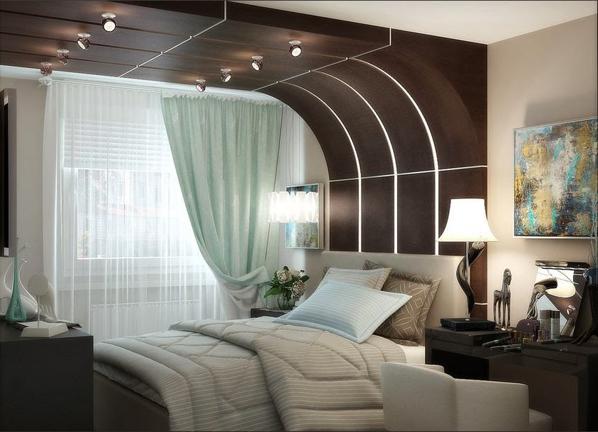 Ceiling design ideas for small bedrooms 10 designs for Modern bedroom designs for small rooms