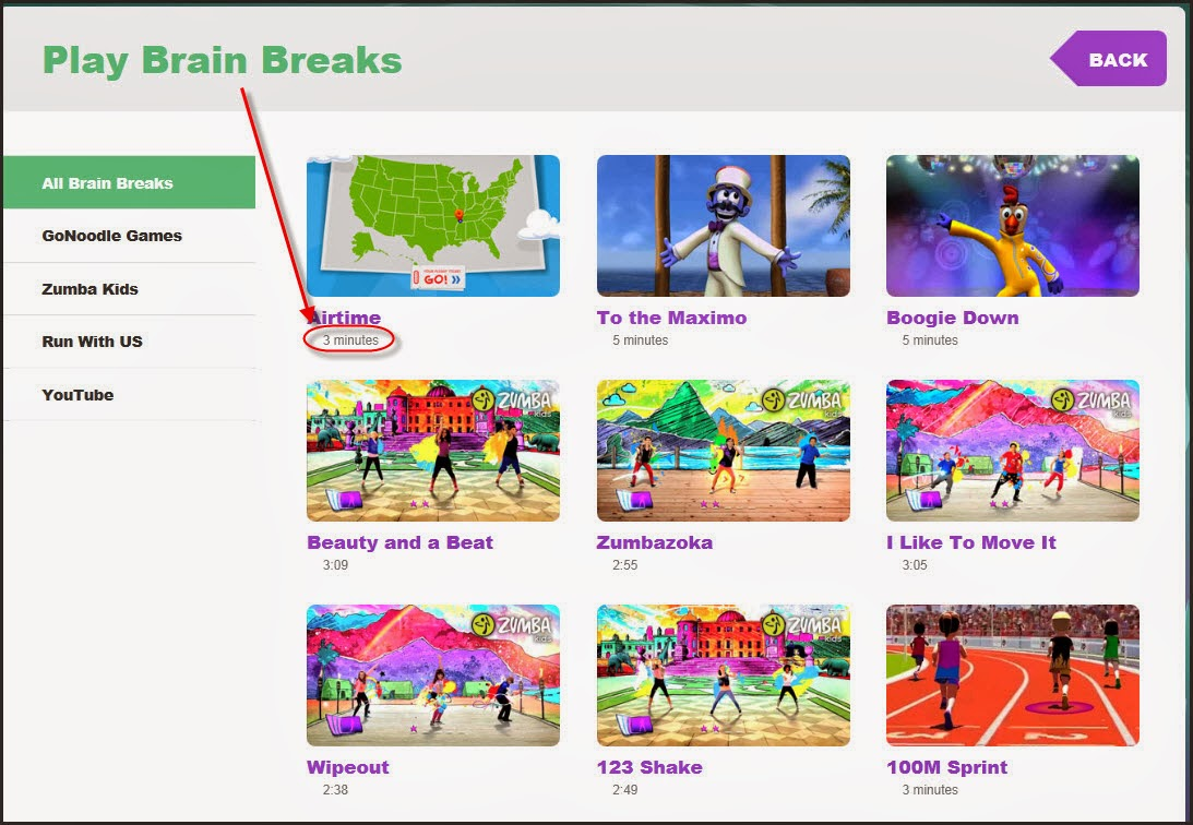 gonoodle - brain breaks | b.e.s.t. tech ideas & tips blog