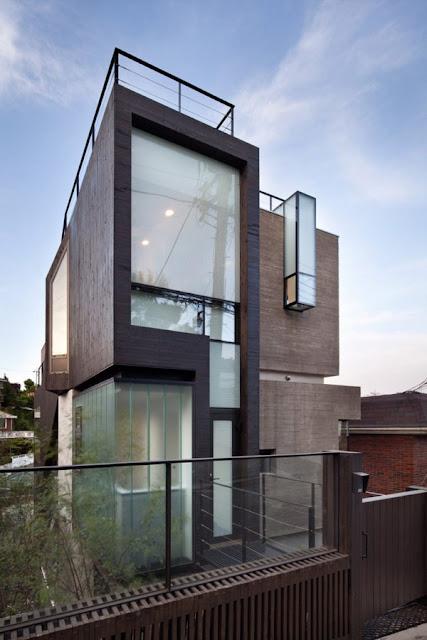 Rumah Modern Korea 4