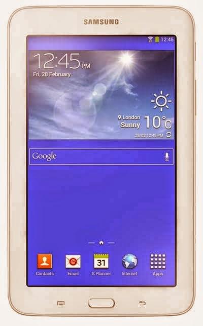 Spesifikasi dan Harga Samsung Galaxy Tab 3 Lite
