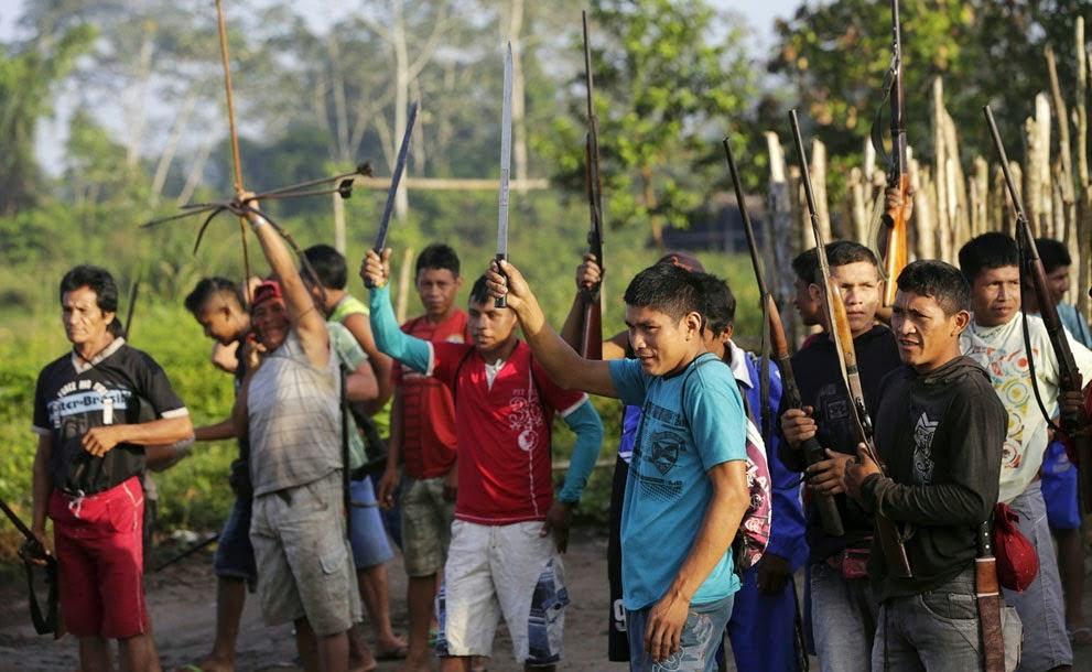Ketika Prajurit Indian Menjaga Hutannya dari Pembalakan Liar