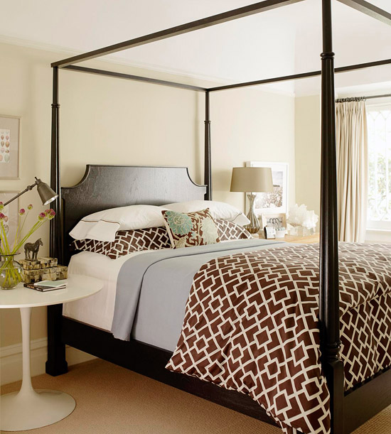 8 Homey Bedroom Ideas That Will Match Your Style: New Home Interior Design: Freshen Your Bedroom With Low