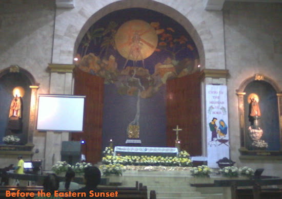 Altar of Santa Cruz Church