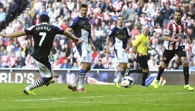 Luis Suarez Goal Sored