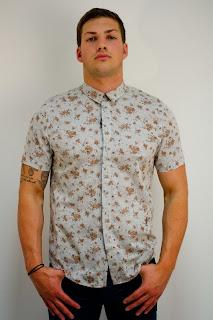 floral shirt for men
