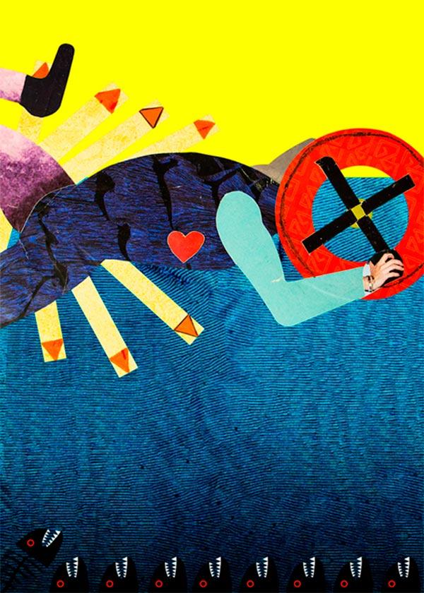 Ilustración, Don't give up de Jonathan Parra Diaz