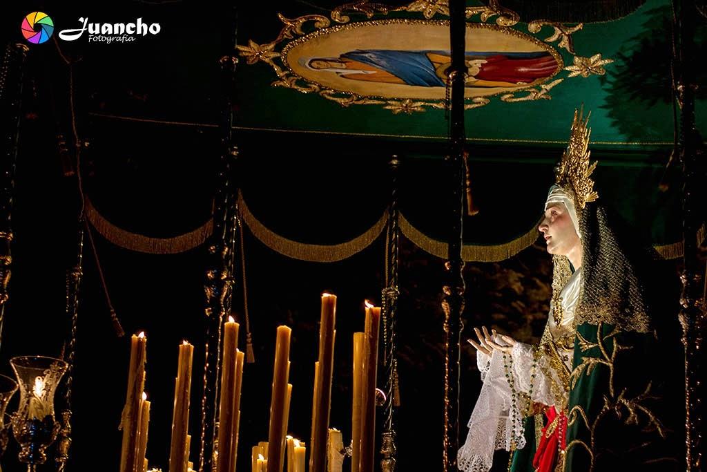 Virgen de las Angustias Nueva Andalucia 2015