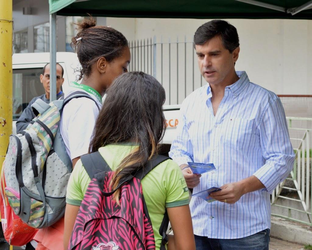 Secretaria de Meio Ambiente de Teresópolis promove ação em comemoração ao Dia Mundial da Água