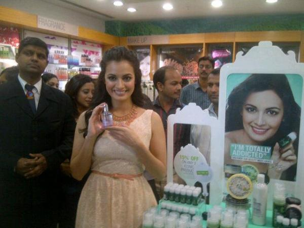 Dia Mirza at the Launch of The Body Shop Top 10 Iconic Products - Dia Mirza at the Launch of The Body Shop Top 10 Iconic Products