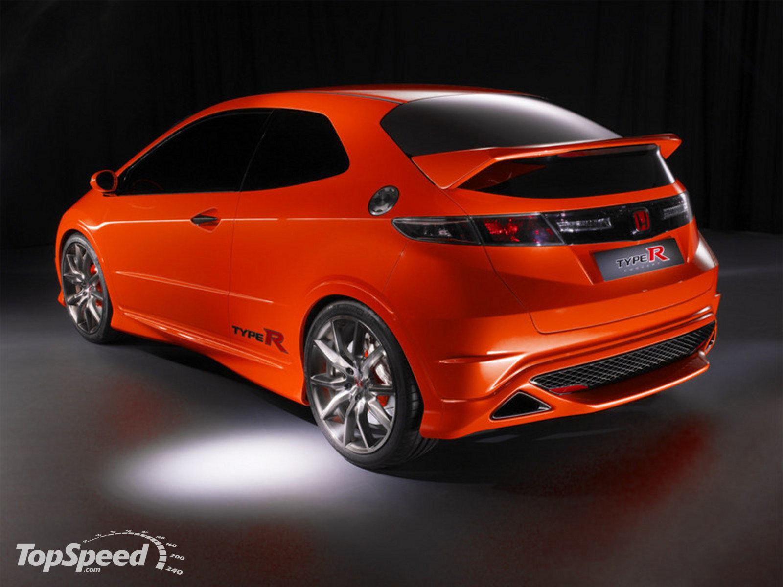 The World Sports Cars Honda Civic Type R