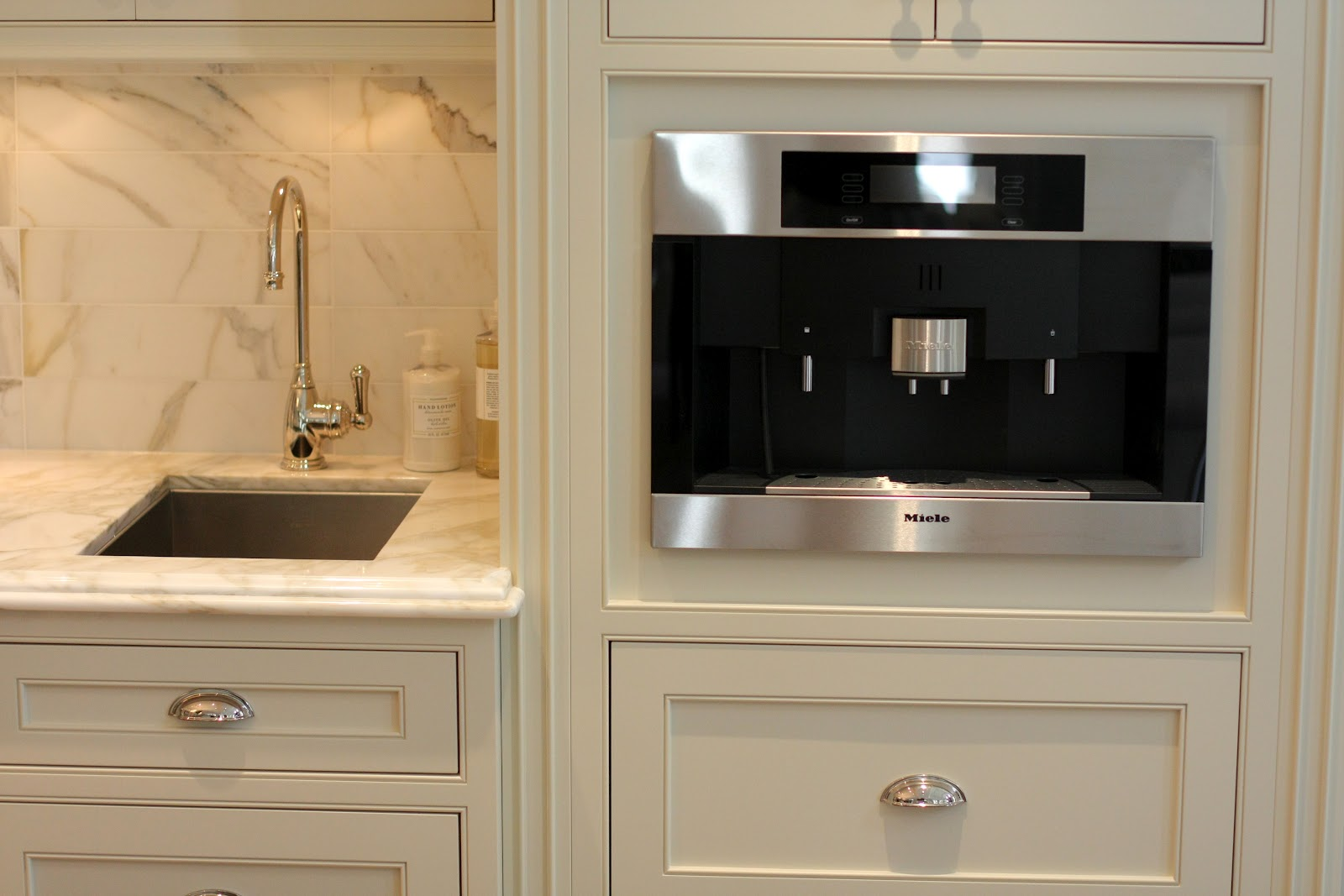 Beaded Inset Kitchen Cabinets