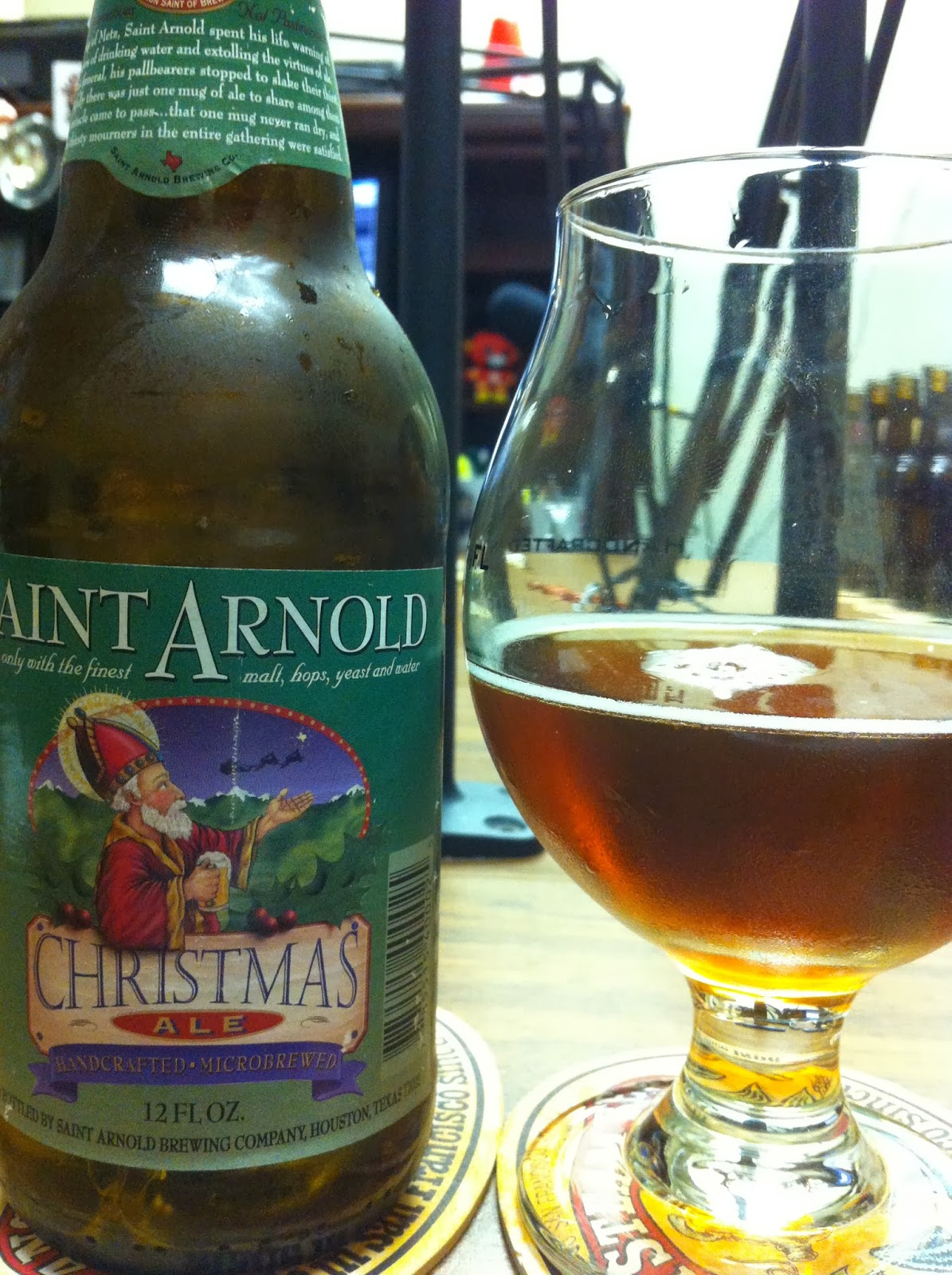 Daily Beer Review: By The Glass Show: Saint Arnold Brewing